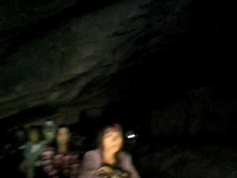Chiang Mai - Tham Lod Cave (видео)