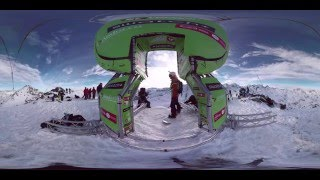 For the first time in the world of freeride, you can step onto the competition face and see and hear in beautiful 360˚ first hand what...