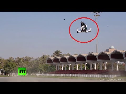 Air Patrol: Dubai Police Test Flying Motorbike-drone Hybrid