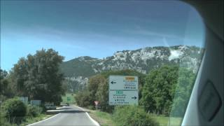 Grazalema Spain  City new picture : Scenic Drive through Sierra de Grazalema Natural Park in Andalucia, Spain