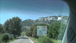 Grazalema Spain  city photo : Scenic Drive through Sierra de Grazalema Natural Park in Andalucia, Spain