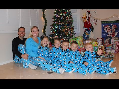 24 Hours With 5 Kids On Christmas Day (видео)