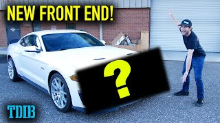 Project SUBZERO Gets a New Front End! Making the S550 Look MEAN! by That Dude in Blue