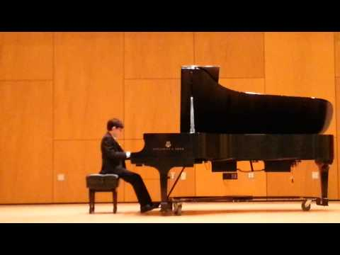 Daniel (9yrs) is playing Chopin:Nocturne