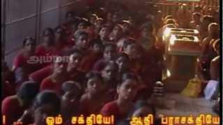 AMMA Devotional Song | Melmaruvathur Adhiparasakthi | Annaiku Thondu Saivama