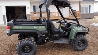 8. John Deere 855D Diesel Gator with Power Steering 2013