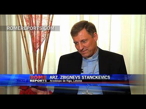 El arzobispo de Riga, un impactante testimonio pro-vida