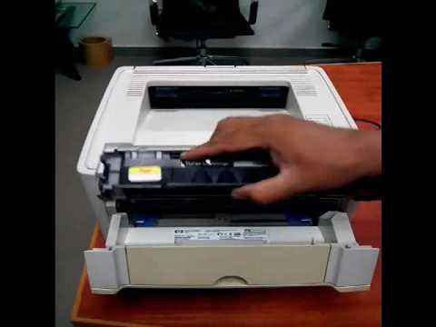 HP 1320 Printer Paper Jam Front