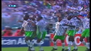 نيجيريا وبلغاريا 3- 0 كاس العالم 94