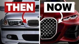 Why Are New BMW Grilles So Big? by Car Throttle