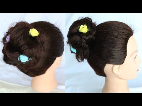 Braid hairstyles - messy bun  hair bun  how to do a messy bun  bun hairstyles  bun hairstyles for short hair
