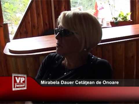 Mirabela Dauer – viitor Cetatean de Onoare la Busteni