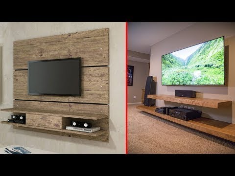 Home Entertainment Center Ideas | DIY A Stylish TV Stand Design