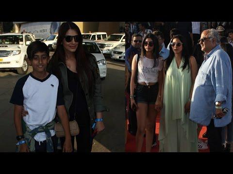 Sridevi | Boney Kapoor | Sonali Bendre At Justin Bieber Concert