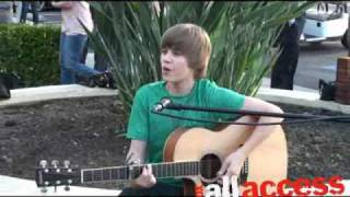 """Justin Bieber - """"One Time"""" Live!"""