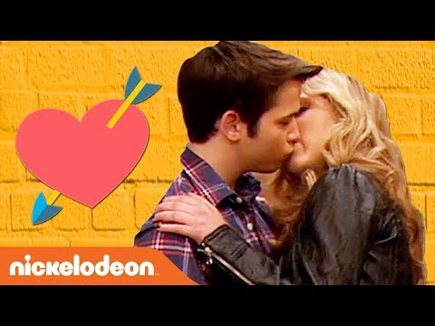 Sam & Freddie's First & Last Kisses 😘 | iCarly | #TBT