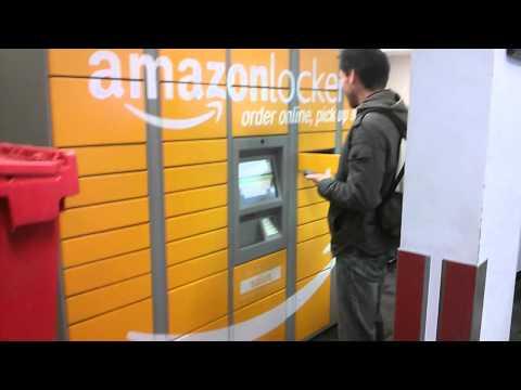 Amazon Locker package pickup