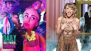 Miley Cyrus Topless Birthday w/ Patrick Schwarzenegger - 2014 American Music Awards BEST Moments