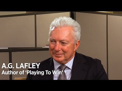 Strategy - Former P&G CEO shares leadership, brand and marketing insights from his new book, 'Playing to Win.' Read it on FORBES: http://goo.gl/CYXlR Subscribe to FORBE...