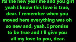 Justin Bieber Feat. Jaden Smith- Happy New Year (Lyrics On Screen) HD