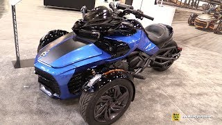4. 2019 Can Am Spyder F3 S - Walkaround - 2018 AIMExpo