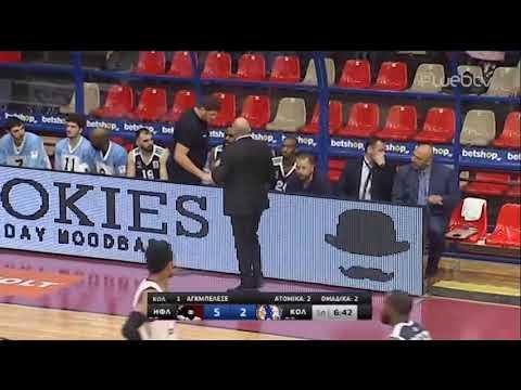 Basket League 2019-2020: ΗΦΑΙΣΤΟΣ – ΚΟΛΟΣΣΟΣ | 14/12/2019 | ΕΡΤ