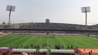 Filmado durante el partido Pumas vs Necaxa Clausura 2017.