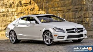 2012 Mercedes-Benz CLS550 Test Drive&Luxury Car Review