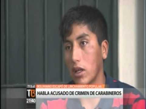 """Acusado del doble crimen a carabineros: """"No los maté""""."""