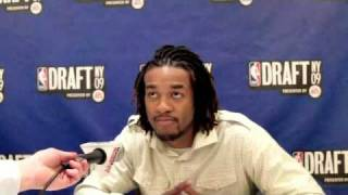 Jordan Hill - 2009 NBA Draft Media Day Interview