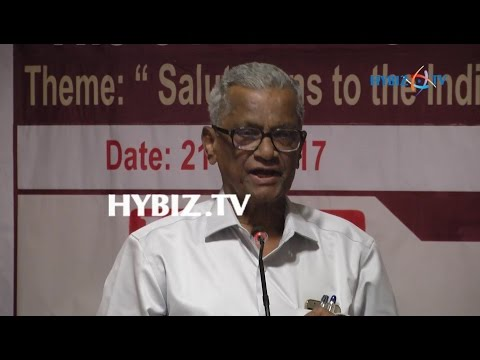 C V Narasimha Reddi-National Public Relations Day