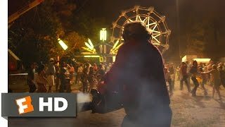 Texas Chainsaw (6/10) Movie CLIP - Carnival Chase (2013) HD