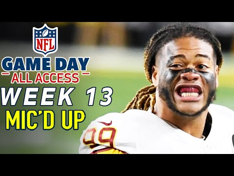"""NFL Week 13 Mic'd Up! """"I hope I never lose enough games to draft you"""" 