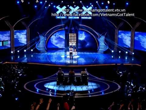 Vietnam's Got Talent 2012 - Bán Kết 4 - Chia Sẻ Cảm Xúc - Dương Quyết Thắng