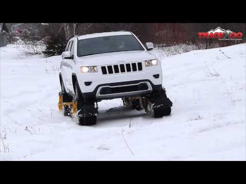 Track N Go A Tread and Ski System That Quickly Attaches to a Vehicle  s