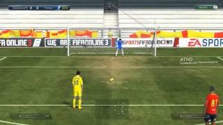 Mẹo FIFA Online 3: Đá penalty với máy, fifa online 3, fo3, video fifa online 3