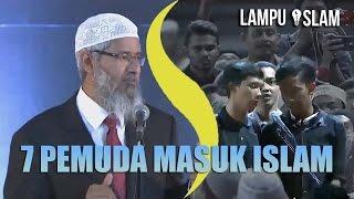 Video 7 PEMUDA MASUK ISLAM SEKALIGUS | DR. ZAKIR NAIK MP3, 3GP, MP4, WEBM, AVI, FLV Februari 2019