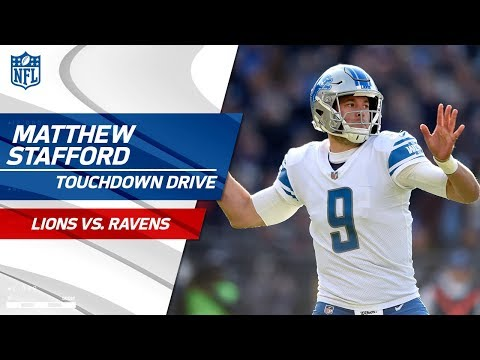 Video: Big Catches by Jones & Roberts Set Up Stafford's TD Pass to Bellore! | Lions vs. Ravens | NFL Wk 13