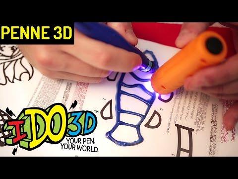 PENNA 3D IDO3D: come funziona, prove, disegni e scritte