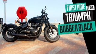 8. 2018 Triumph Bobber Black - The first ride review