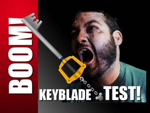 keyblade - In this ZOMBIE VIDEO, we will show you if a KEYBLADE can make a ZOMBIE GO BOOM. This episode was filmed live at KONSPLOSION, 2012. A KEYBLADE is made for sla...