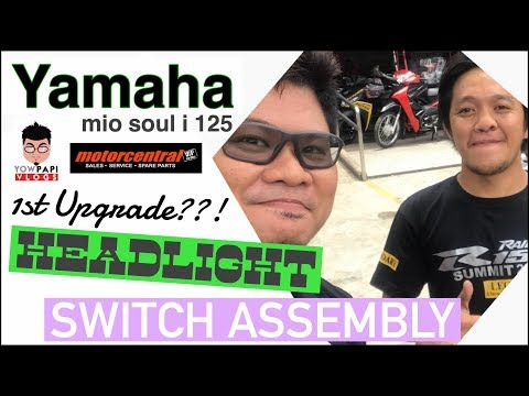 Headlight Switch Assembly Yamaha Mio Soul I 125 At Motorcentral