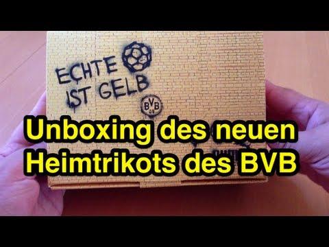 Unboxing: Borussia Dortmund (BVB) - das neue Trikot von Puma 2013-2014