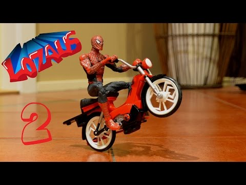 Spider Man (film) - My Facebook Page: https://www.facebook.com/lozaus1 Part 1 also showing at: http://youtu.be/xIs7yYUQNGc Part 3 also showing at www.youtube.com/watch?v=MLY_cnYEU4o Spider-Man Stop Motion Action...