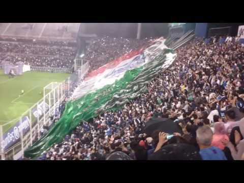 Recibimiento de la hinchada de Vélez vs Boca - La Pandilla de Liniers - Vélez Sarsfield