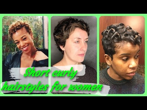 20 Top  Beauty short curly hairstyles for women 2019