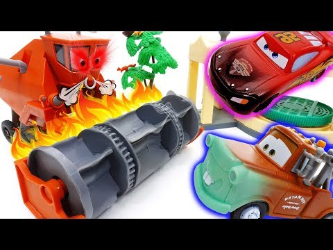Frank Got Angry ~! Disney Cars Color Changer Toys