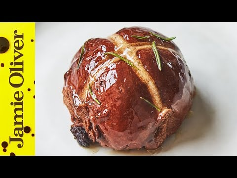 How to make Chocolate Hot Cross Buns | Jamie Oliver
