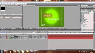 ขั้นตอนการใช้โปรแกรม After Effect Cs3