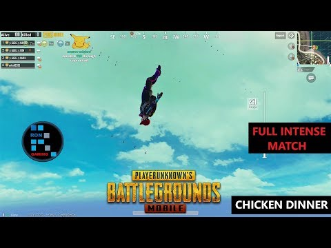 [Hindi] PUBG MOBILE | AMAZING INTENSE MATCH MUST WATCH TILL THE END
